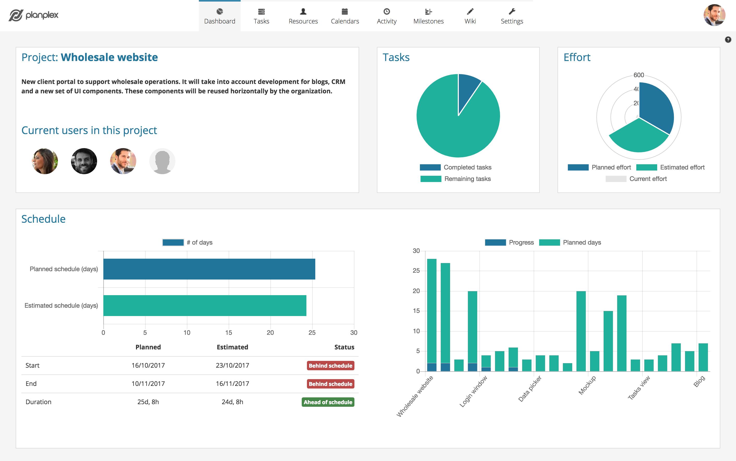 Planplex - Online project management tool